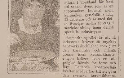 Strömstad Tidning – Företag i Strömstad i kraftig expansion – 1962 – 10 november